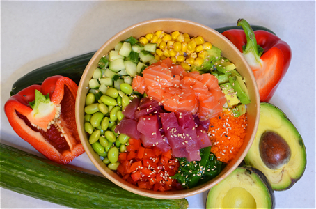 Foto Sashimi Mix Bowl